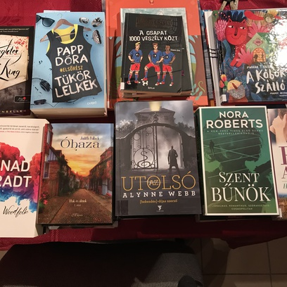 új könyvek