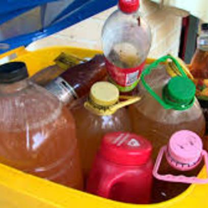 Lakossági használt sütőolaj-begyűjtés