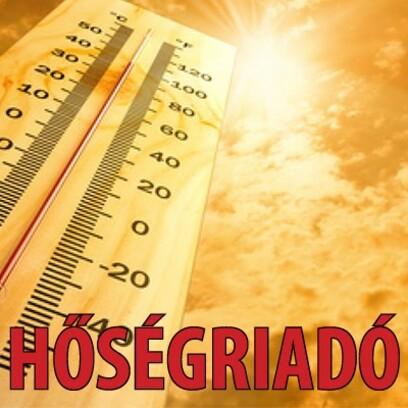 Lakossági tájékoztató és tanácsok hőségriasztás idejére