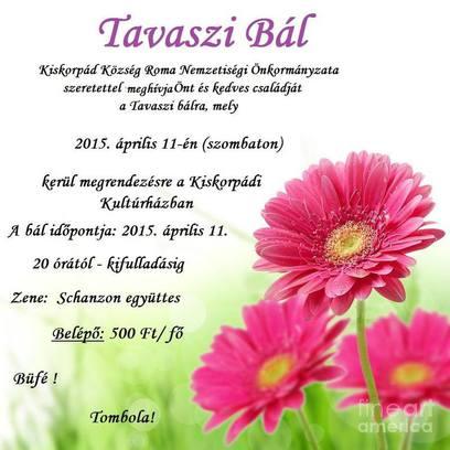 TAVASZI BÁL