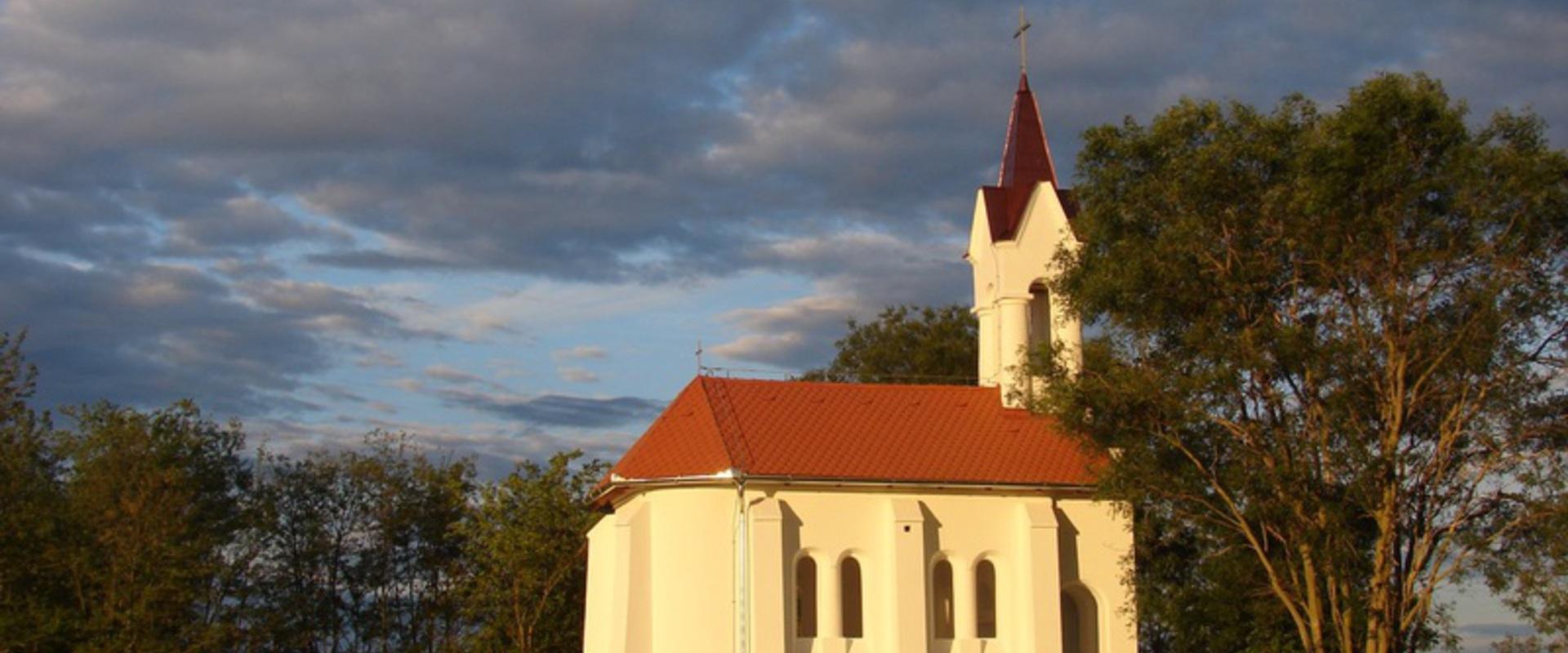 Felújított kápolnánk